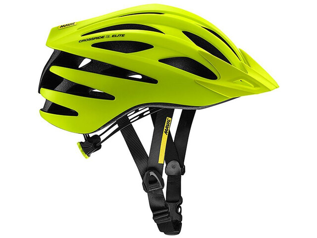 Mavic Crossride SL Elite Casque Homme, safety yellow/black